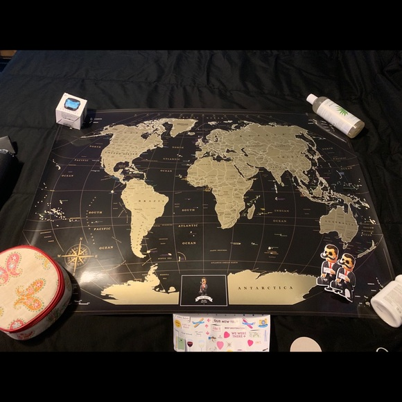 Other - Scratch Off Map